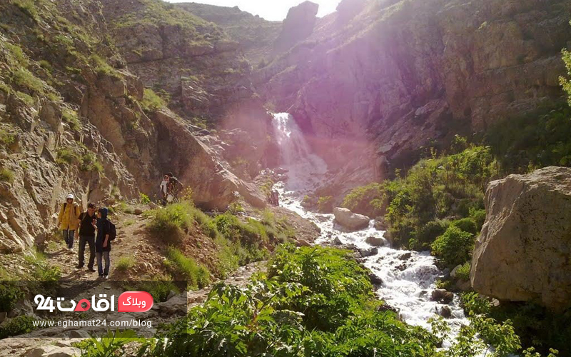 طبیعت روستای آهار