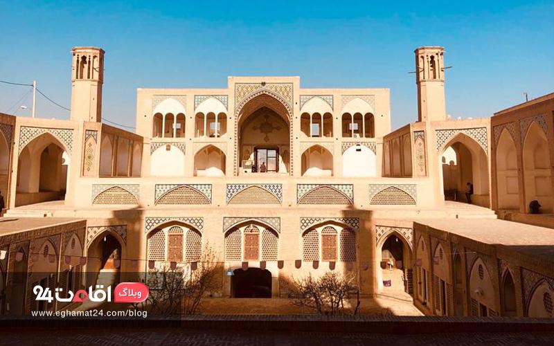 مسجد و مدرسه اقا بزرگ کاشان