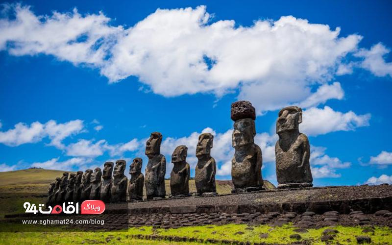 مجسمههای موآی - Moai Statues