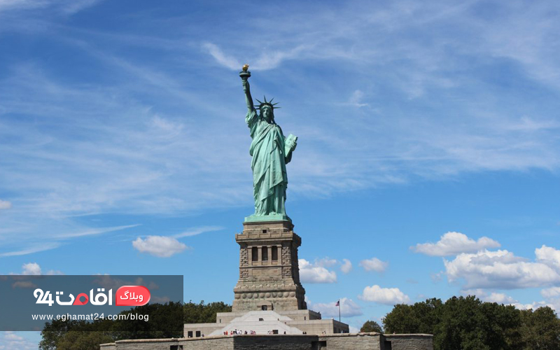 مجسمه آزادی - The Statue of Liberty