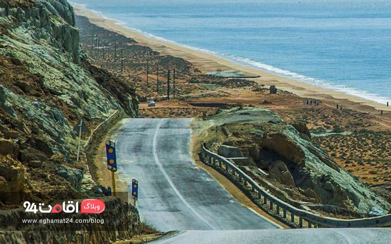 جاده ساحلی چابهار به بریس