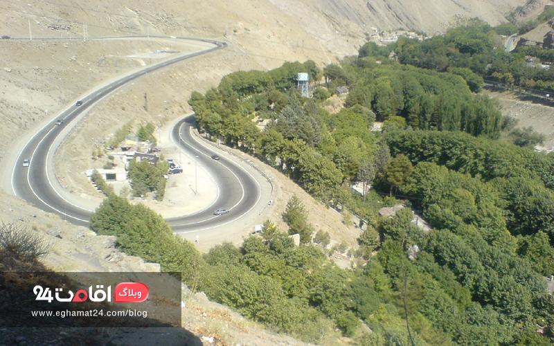 جاده سپیدان به نورآباد