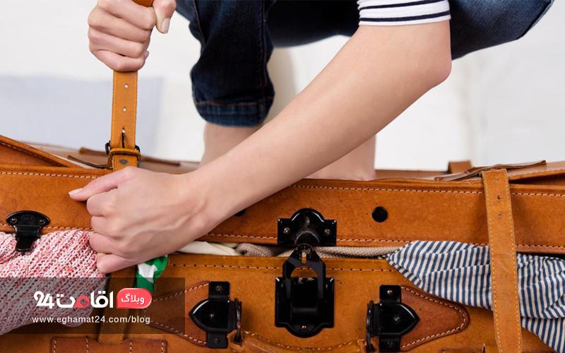 وسایل غیر ضروری سفر | بدون وسایل دست و پا گیر، سبک سفر کنید!