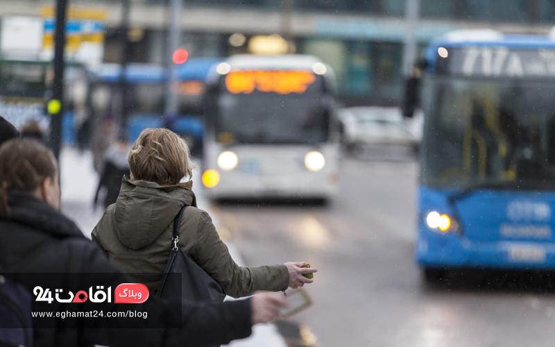 بهداشت استفاده از وسائل نقلیه عمومی