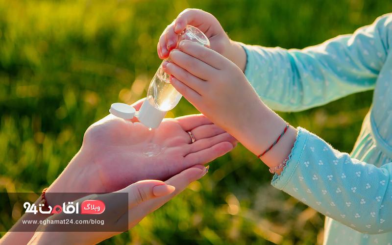 شستن دست ها و پیشگیری از کرونا