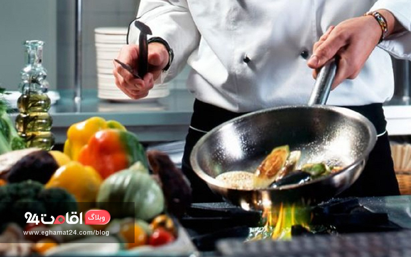 پختن کامل مواد غذایی