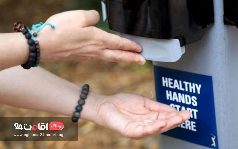 امکانات بهداشتی برای کنترل کرونا