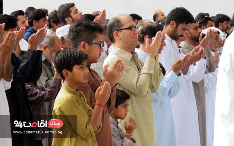 برگزاری نماز عید فطر