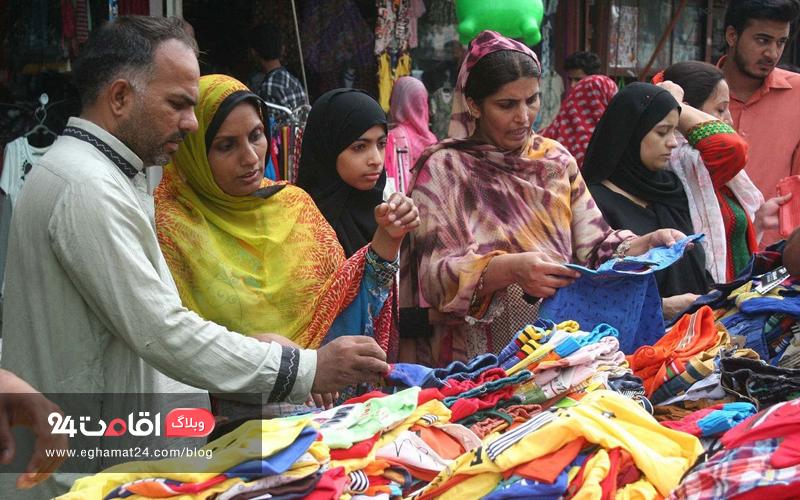 خرید لباس نو برای روز عید