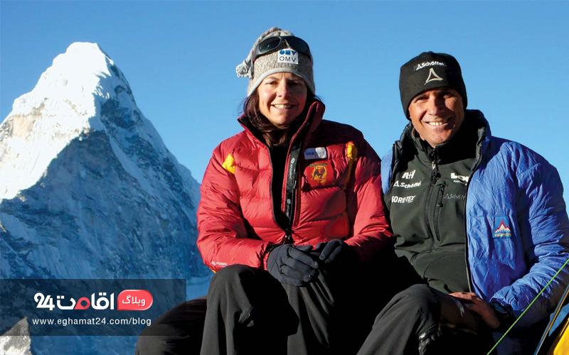 لذت کوهنوردی