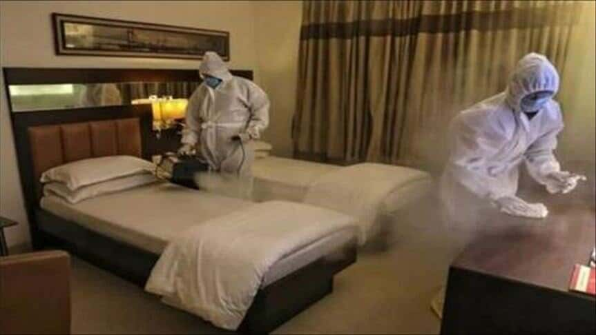اقامت در هتل در دوران کرونا