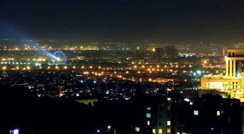 جاهای دیدنی مشهد در شب