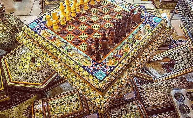 سوغات اصفهان - خاتم کاری