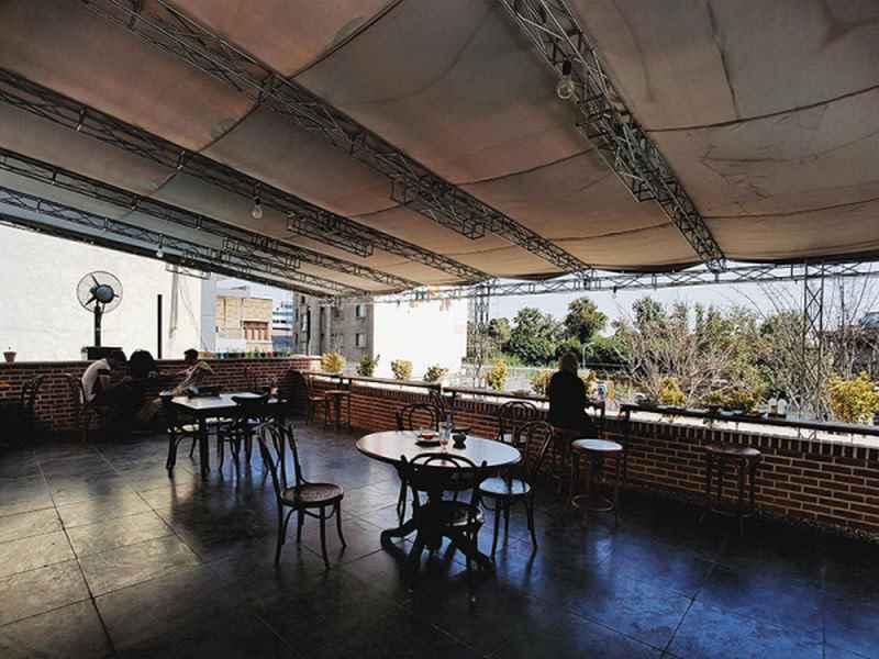 کافه عمارتهای تهران