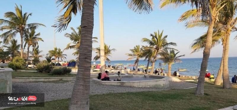 ساحل زیتون قشم زیباترین سواحل ایران