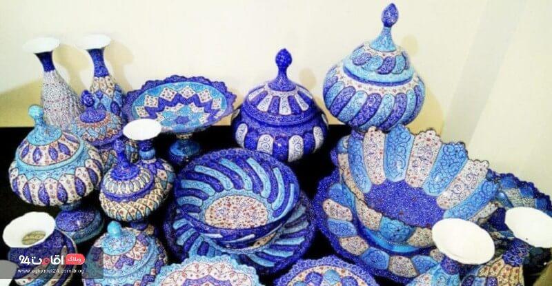 سوغات شیراز - میناکاری
