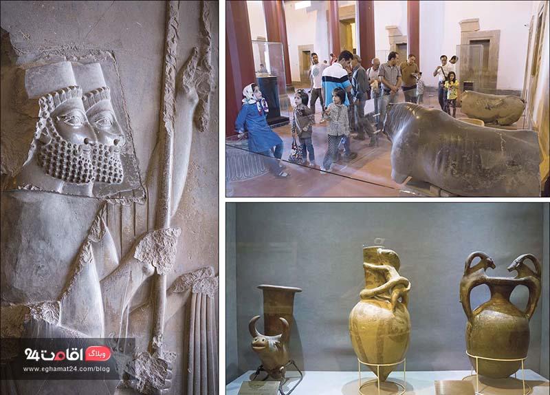 موزه تخت جمشید شیراز