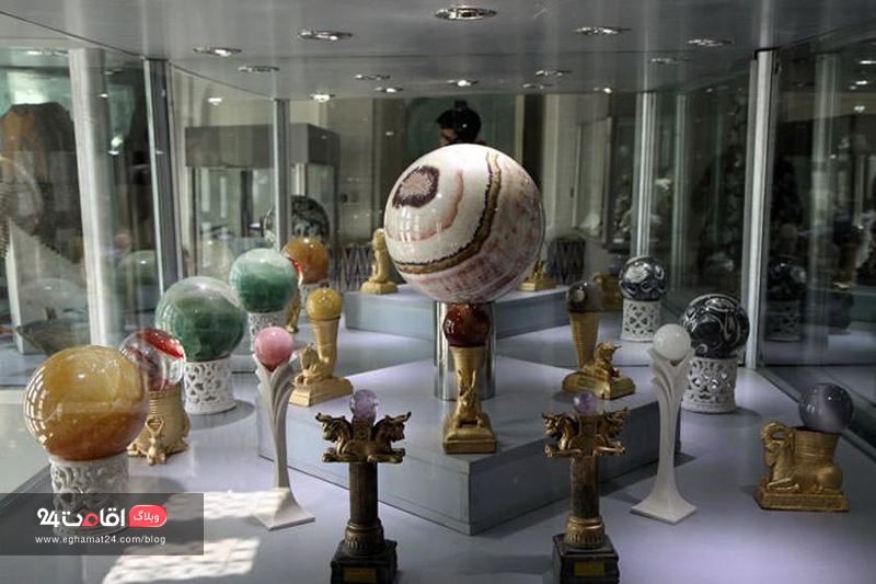 موزه سنگ و گوهر دریای نور