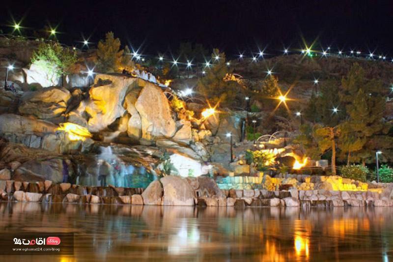 کوهسنگی جاهای دیدنی مشهد در شب