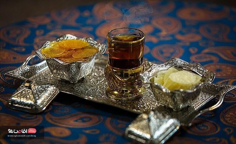 سوغات اصفهان پولکی