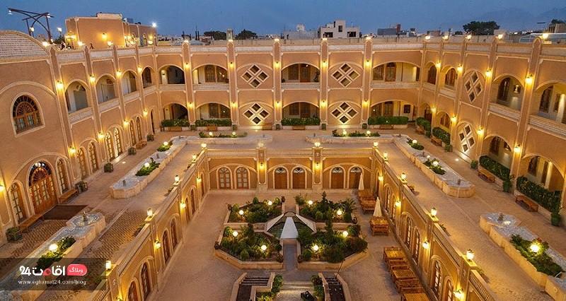 هتل داد یزد بوتیک هتل های ایران
