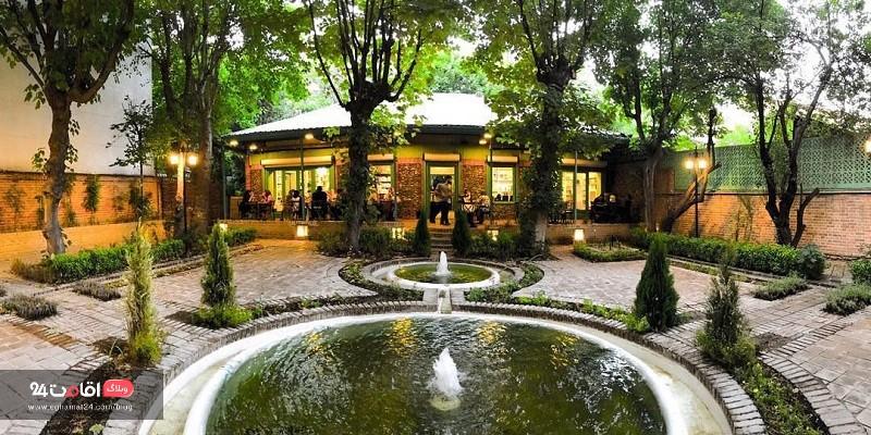کافه عمارت های تهران