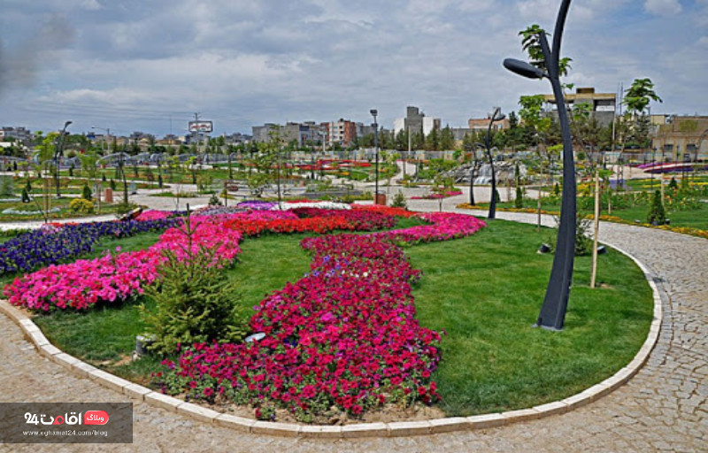 باغ گلها مشهد