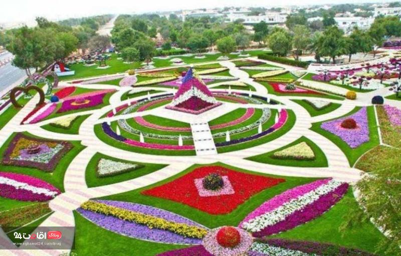 باغ گلها کرمانشاه