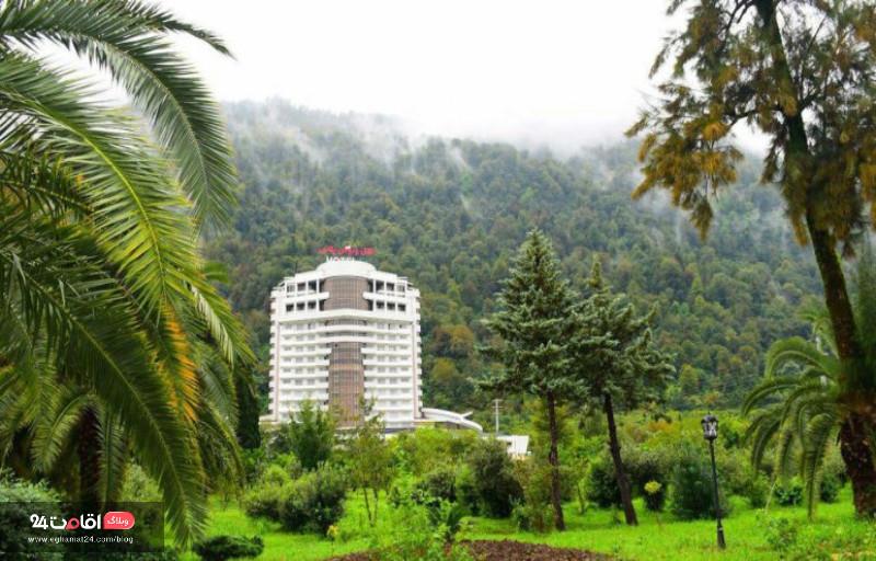 بهترین هتل چالوس   از هتل های ساحلی تا اقامت در جاده چالوس
